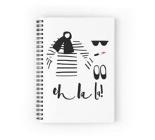 Oh la la! Spiral Notebook