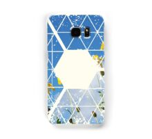 Nature and Geometry - Yellow Flowers Samsung Galaxy Case/Skin