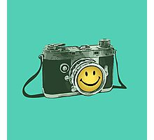 Smiley camera Photographic Print