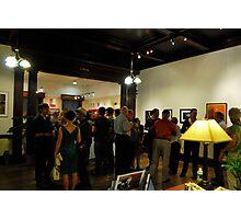Exhibit Crowd,  Photographic Print