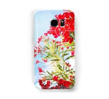 Nature and Geometry - Flowers Samsung Galaxy Case/Skin