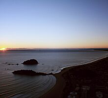 mount maunganui sunrise by rachelwalker