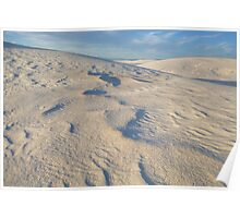 White Sands Undercoating Poster