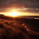 sunset at oakura, new zealand by rachelwalker