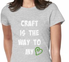 Craft Beer Love Womens Fitted T-Shirt