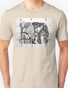 Kafka - Zentangle #6 Unisex T-Shirt