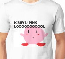 Kirby is Pink Unisex T-Shirt