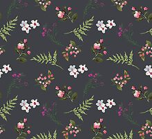 Vintage Flowers by junkydotcom