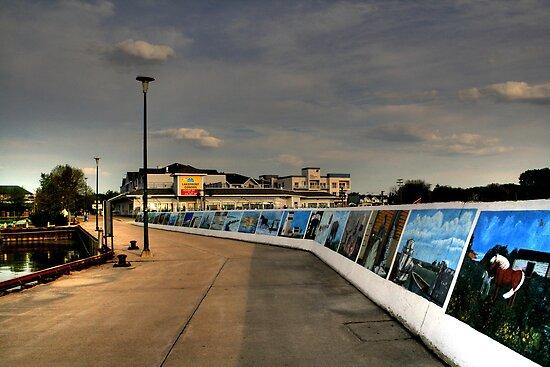 Seawall Murals!!! by Larry Trupp