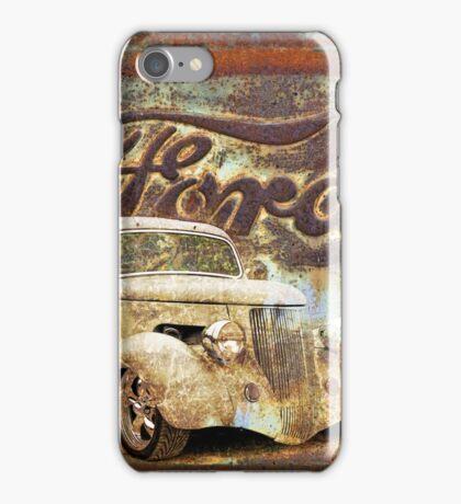 Vintage Hot Rod Art iPhone Case/Skin