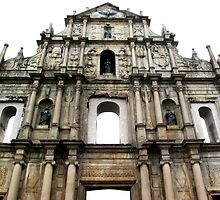 Ruins of St. Paul's by Ethna Gillespie