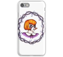 Skeleton Wreath iPhone Case/Skin