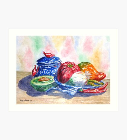 Picante and Pottery Art Print
