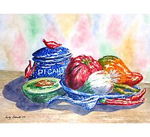 Picante and Pottery Photographic Print