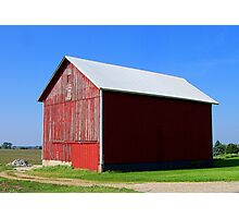 Road to the Red Barn Photographic Print