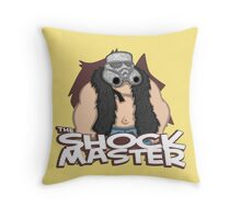 The Shockmaster Throw Pillow