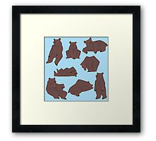 Bears Framed Print