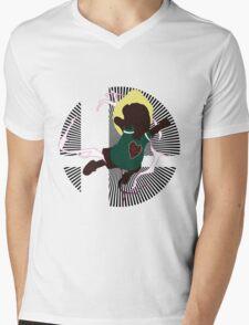 Lucas (PK Thunder, Boney Shirt) - Sunset Shores Mens V-Neck T-Shirt