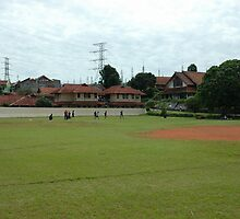 baseball field by bayu harsa