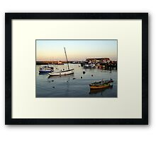 Bridlington harbour 1 Framed Print