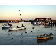Bridlington harbour 1 Photographic Print