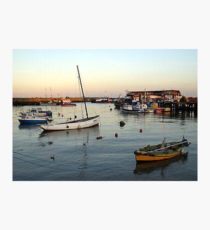 Bridlington harbour 1 Photographic Print