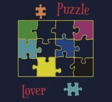 Puzzle Lover (red) by Silvia Ganora