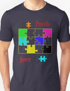 Puzzle Lover (red) T-Shirt