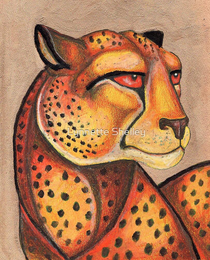 Cheetah Gaze by Lynnette Shelley
