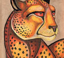 Cheetah Gaze by Lynnette Shelley