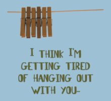 I'm getting tired of hanging out with you... (dark) by Silvia Ganora
