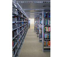 Riyad Nassar Library Photographic Print
