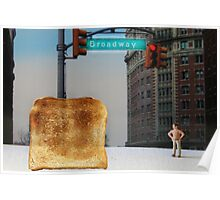 Kevin finally locates the Toast of Broadway; it wasn't exactly what he expected. Poster