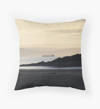 The Bristol Channel Throw Pillow