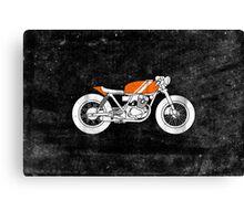 Café Racer – Reverse Canvas Print