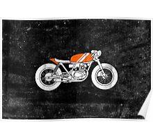Café Racer – Reverse Poster