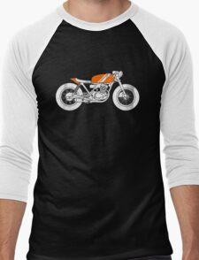 Café Racer – Reverse Men's Baseball ¾ T-Shirt