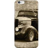 Chopped Coupe iPhone Case/Skin