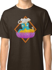 Ganesh on Lotus with Mouse Classic T-Shirt