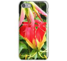 Flame Lily iPhone Case/Skin