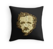 """Quoth the Raven, """"Nevermore.""""  Throw Pillow"""