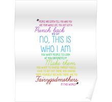 Once Upon a Time - Emma Swan Quote Rainbow Poster
