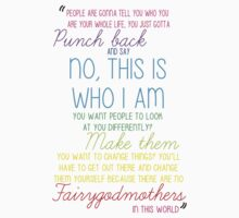 Once Upon a Time - Emma Swan Quote Rainbow Kids Clothes