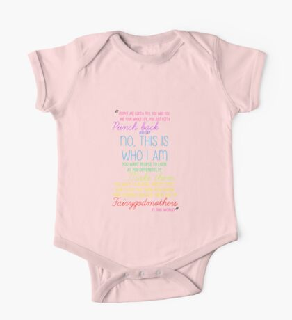 Once Upon a Time - Emma Swan Quote Rainbow One Piece - Short Sleeve