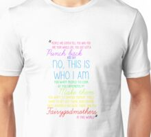 Once Upon a Time - Emma Swan Quote Rainbow Unisex T-Shirt