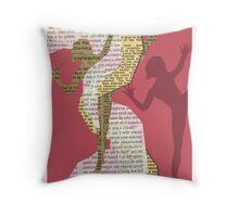 Twist A Throw Pillow