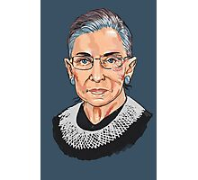 Supreme Court Justice Ruth Bader Ginsburg Photographic Print