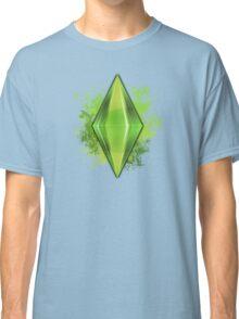 Green Plumbbob Grunge Classic T-Shirt