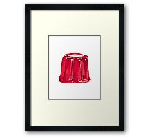 Jelly on a plate Framed Print