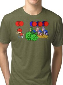 Balloon Fight: Villager Style Tri-blend T-Shirt